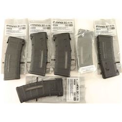 Lot of (6) 5.56x45/.223 Mags