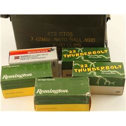 Large Lot of 22 LR Ammo