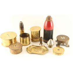 Trench Art Lot