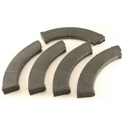 Lot of (5) AK-47 mags