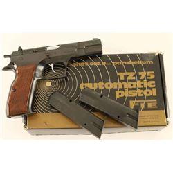 Tanfoglio TZ 75 9mm SN: H04930