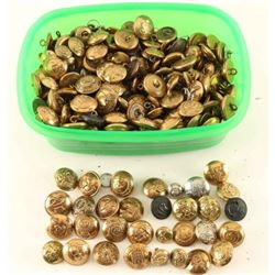Lot of Brass Military Buttons