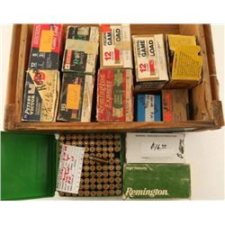 Wood Crate of Reloaded Ammo