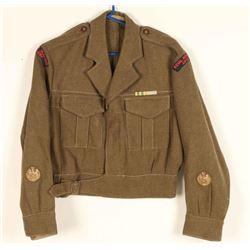 Post WWII Royal New Zealand Artillery Coat