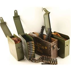 Lot of 3 Russian PKM Ammo Cans