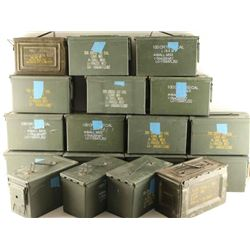 Large Lot of Empty Ammo Cans