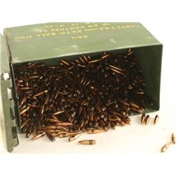 Large Lot of 30 Cal Bullets