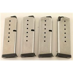 Lot of Four Kahr CW9 Factory Magazines