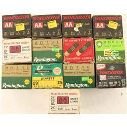 Lot of 28Ga Ammo