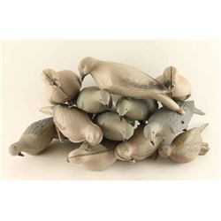Lot of Dove Decoys