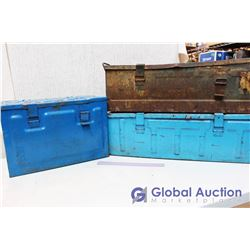 (3) Military Ammo Crates
