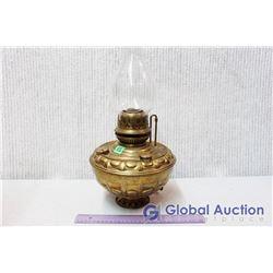Brass Oil Lamp - Dresden