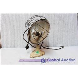 Vintage Space Heater w/Cast Iron Base