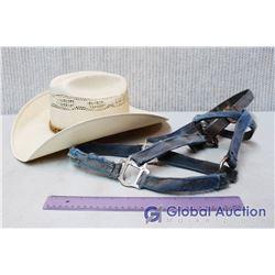 Cowboy Hat and Halter