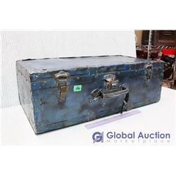 Vintage Metal Suitcase