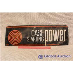 Metal Case Starting Power Sign
