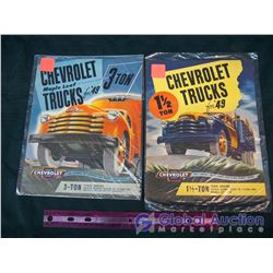 Pair Of 1949 Chevrolet Truck Brochures