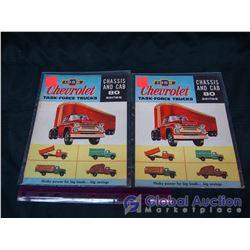 Pair Of 1958 Chevrolet Truck Brochures