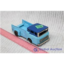 Blue Pickup Truck Tin Litho Toy, Made In Japan