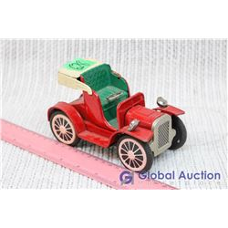 Red Roadster Tin Litho Toy, Early 1900's