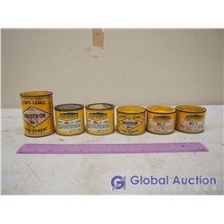 Tins of Smooth-On Iron Cement (6)