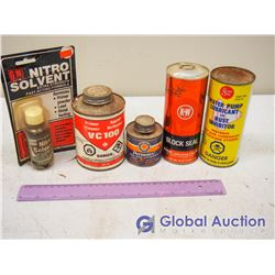 Block Seal, Water Pump Sealant, Nitro Solvent Unopened. Opened Pipe Compound (2)