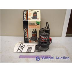 1/6 HP Submersible Sump Pump, Rigid With Box