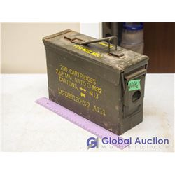 Metal Ammo Boxes (Sold Choice)