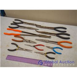 Lot Of Needle Nose Pliers