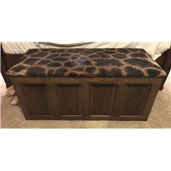 CUSTOM CEDAR CHEST | Heirloom Quality Custom Hand-Made Furniture By Legends Taxidermy