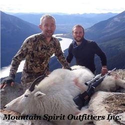 MOUNTAIN GOAT HUNT IN BRITISH COLUMBIA | Mountain Spirit Outfitters