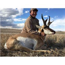 ANTELOPE HUNT FOR TWO HUNTERS | Montana Outfitting Company | Big Sandy, Montana