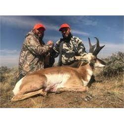 3 day Pronghorn hunt Craig, Colorado