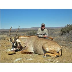 South Africa Roan Hunt with TAM Safaris AND One African Antelope Mount Montana Recapture