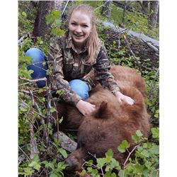 Montana unguided spring bear hunt on 4,500 acre private wildlife preserve