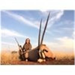 South African plains game hunt with Phillip Bronkhorst Safaris for 1 hunter and one observer