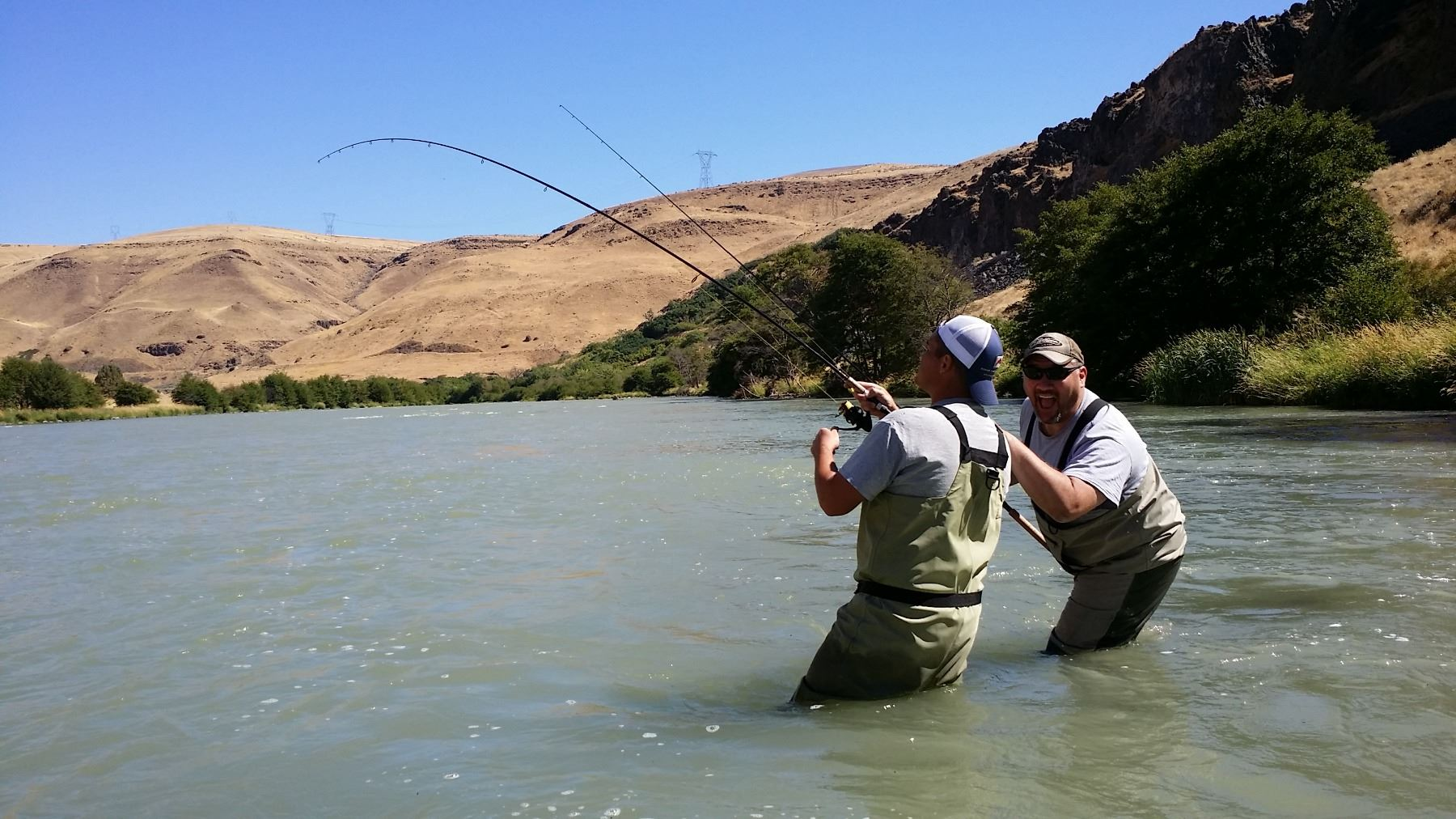 Famous Deschutes River Steelhead/Salmon Fishing Trip for 2
