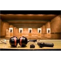 Pistol Shooting Lesson and Range Time                           Note: On-site bidding only