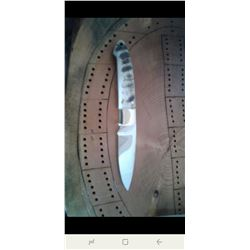 Custom British Columbia Stone Sheep Knife