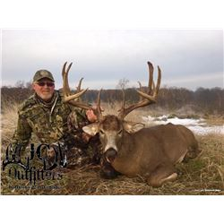 Kansas Muzzleloader Whitetail hunt for 2 hunters