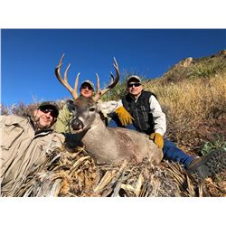 Mexico Carmen Mountain Whitetail Deer Hunt for 1 Hunter & 1 Observer