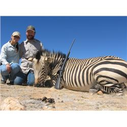 Namibia Mountain Zebra & Springbok Safari for 2 Hunters