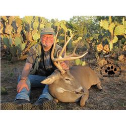 South Texas Trophy Whitetail Deer Hunt