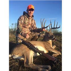 West Texas Trophy Whitetail Deer Hunt Package