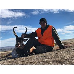 Wyoming Pronghorn Antelope Hunt for 2 Hunters