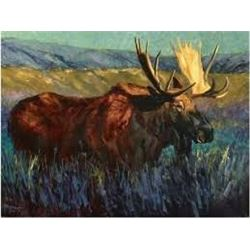 Terry Lee Giclee – Moose Flats