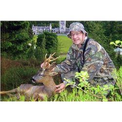 Scotland Roe Deer Hunt for 1 hunter