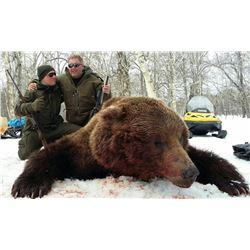 10-day Kamchatka Brown Bear for 1 Hunter