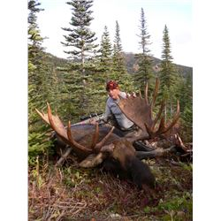 10-day 2on1 Guided Fly-In Canadian Moose Rut Hunt