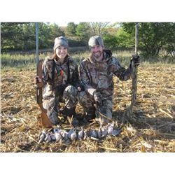 2-day Iowa Dove Hunt for 8 hunters